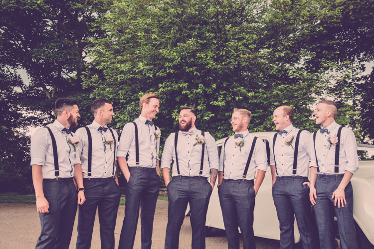 Bow Tie Braces Groom Groomsmen Alternative Game of Thrones Fete Wedding http://hayleybaxterphotography.com/