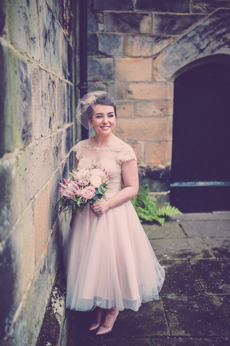 Short Dress Bride Bridal Gown House of Mooshki Alternative Game of Thrones Fete Wedding http://hayleybaxterphotography.com/