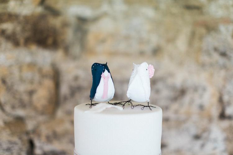 Cake Toppers Beautiful Barn Bird Wedding http://www.melissabeattie.com/
