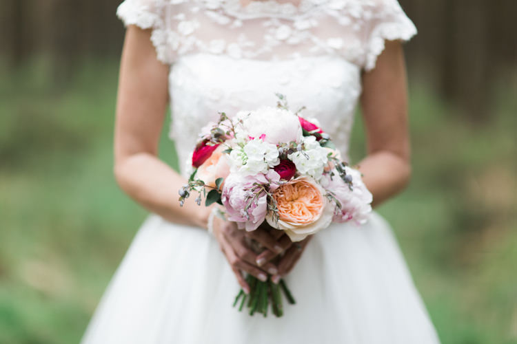Pink Peony Peonies Rose Bouquet Flowers Bride Bridal Beautiful Barn Bird Wedding http://www.melissabeattie.com/