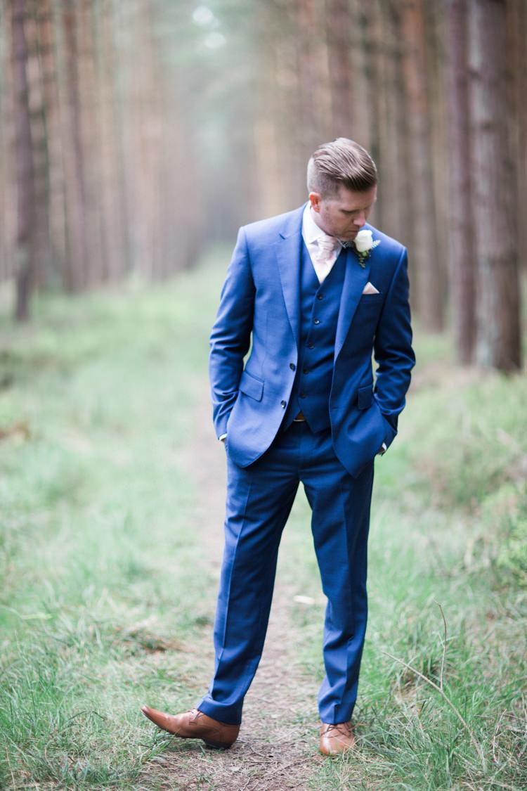 Blue Suit Groom TM Lewin Tan Shoes Beautiful Barn Bird Wedding http://www.melissabeattie.com/