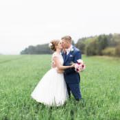 Beautiful Barn & Birds Wedding