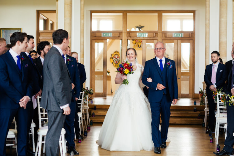 Multicoloured Fun Creative Wedding http://www.catlaneweddings.com/