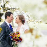 Multicoloured Fun Creative Wedding http://www.catlaneweddings.com/