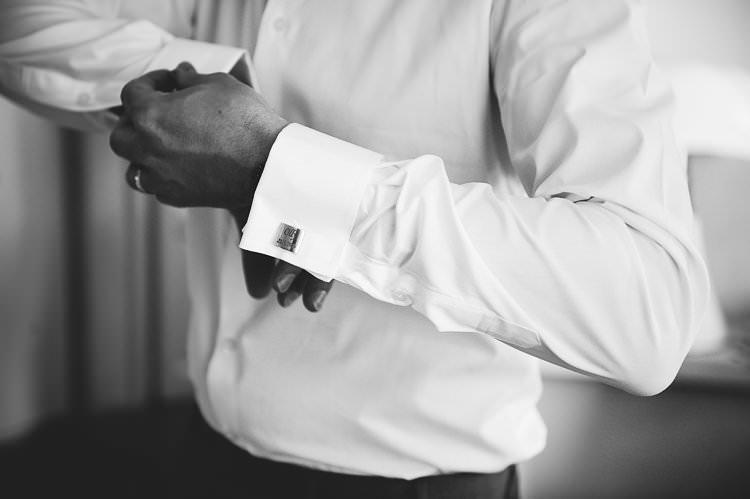 White Shirt Cufflinks St Tropez Destination Wedding http://www.gemmamcauleyphotography.com/