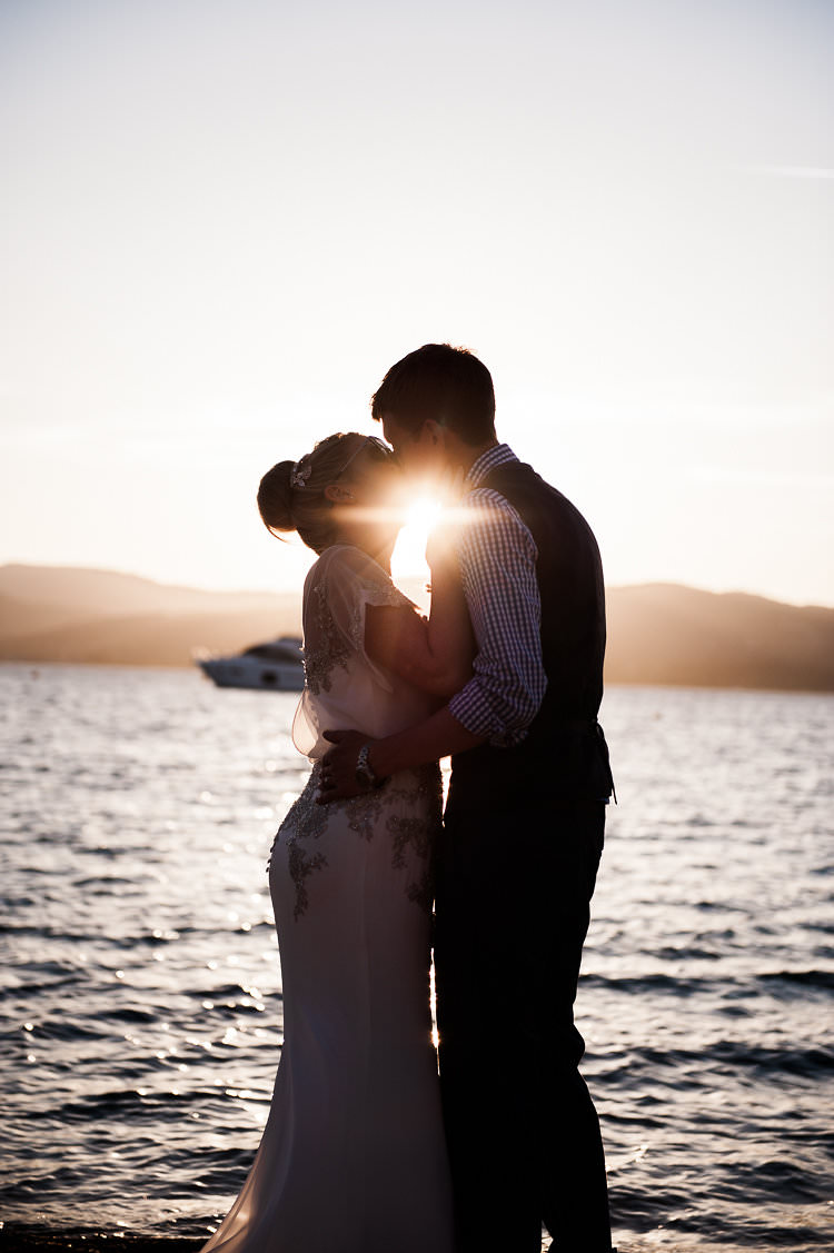 Sun Shining St Tropez Destination Wedding