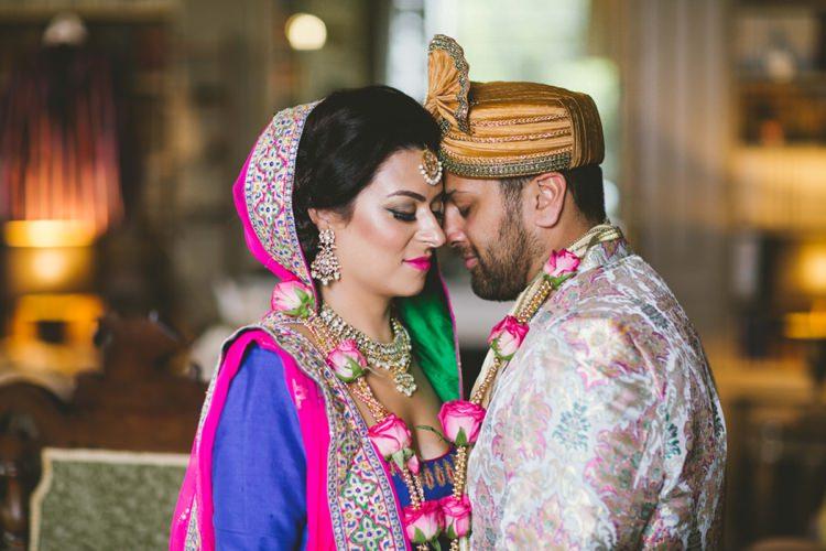 Indian Glamour English Countryside Chic Wedding http://www.jayrowden.com/
