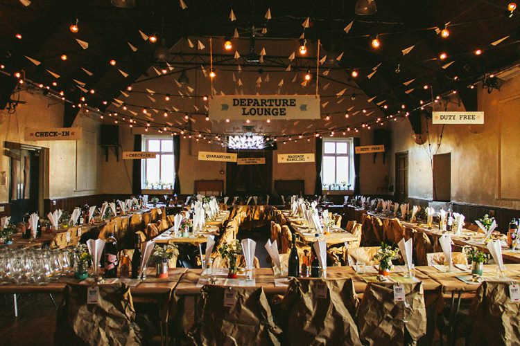 Creative Travel Village Hall Wedding