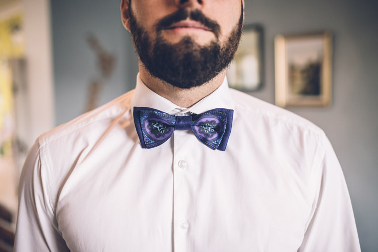 Bow Tie Groom Retro 1950s Vintage Wedding http://amyfaithphotography.com/