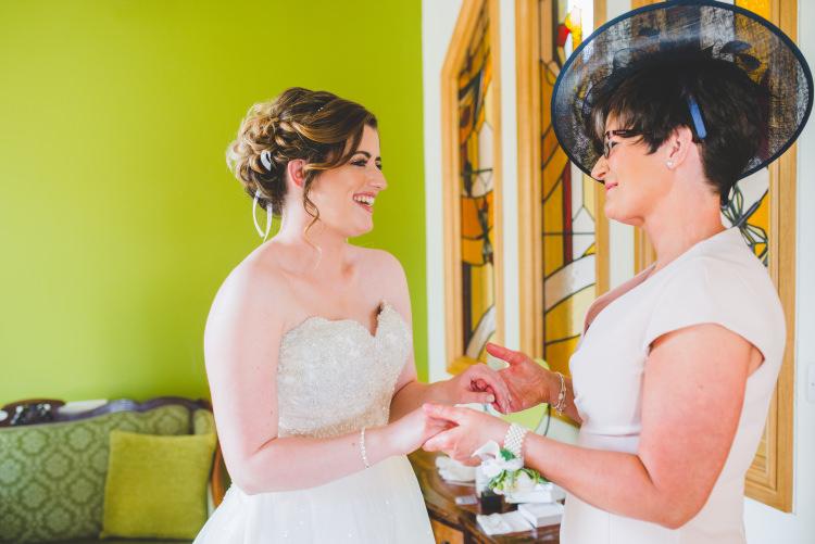 Gold Sequin Outdoor Humanist Wedding http://www.emmahillierphotography.com/
