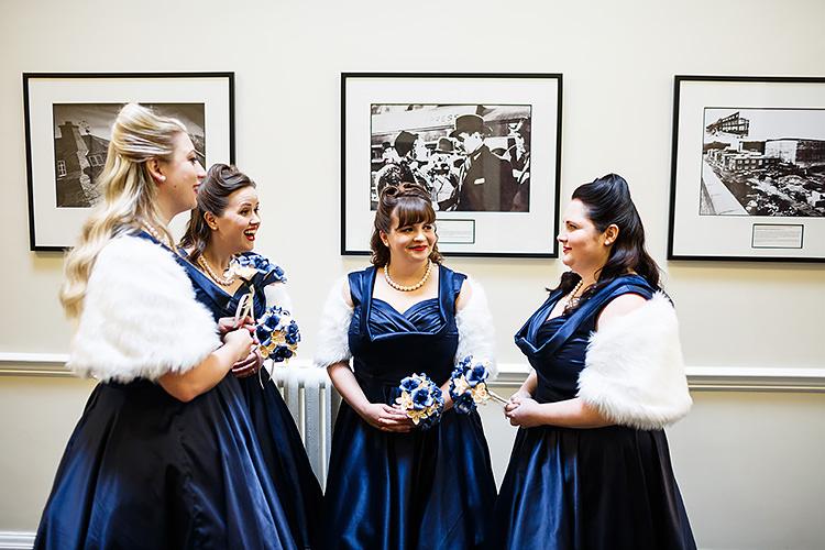 Navy Prom Dresses Bridesmaids Vintage Doctor Who Wedding http://www.linaandtom.com/