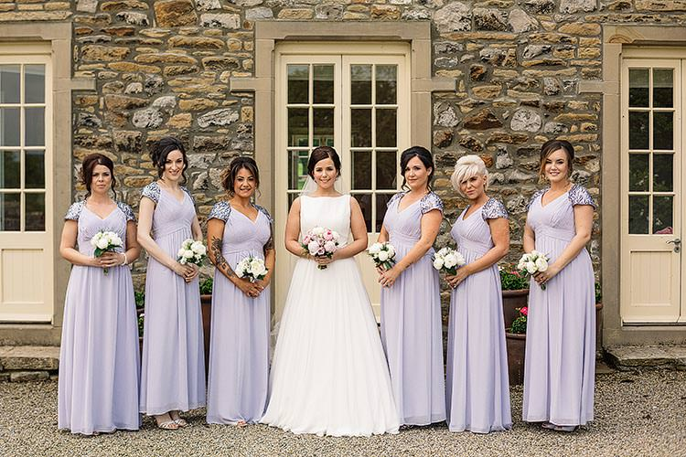 Lavender Lilac Bridesmaid Dresses Purple Long Delightful Secret Garden Wedding http://www.pauljosephphotography.co.uk/