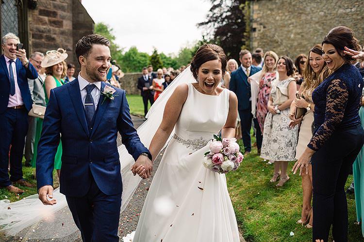 Confetti Throw Delightful Secret Garden Wedding http://www.pauljosephphotography.co.uk/
