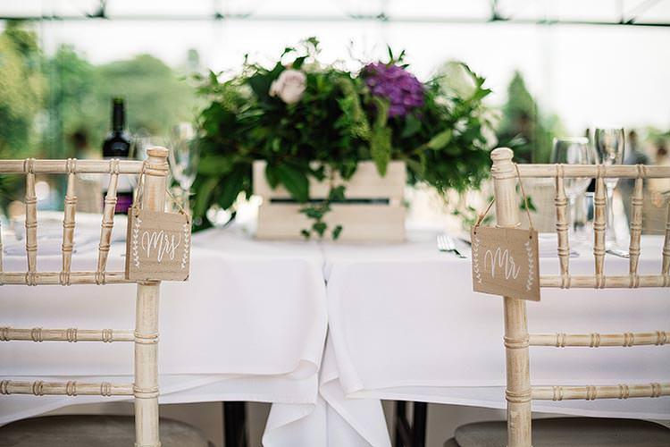 Mr Mrs Chair Signs Delightful Secret Garden Wedding http://www.pauljosephphotography.co.uk/