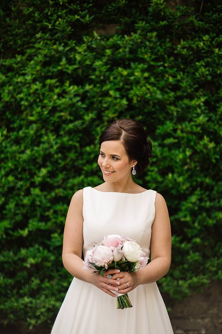 Classic Chic Justin Alexander Dress Gown Bride Daisy Delightful Secret Garden Wedding http://www.pauljosephphotography.co.uk/