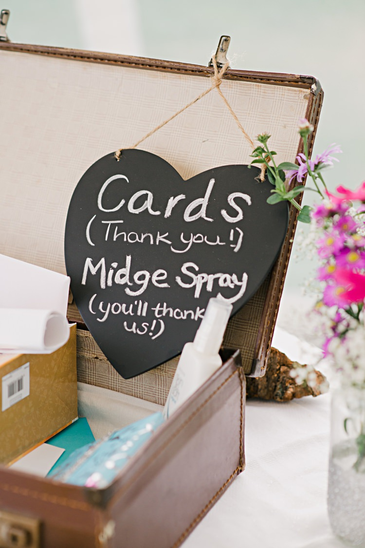 Card Suitcase Beautiful Bicycle Country Marquee Wedding http://www.emmabphotography.com/