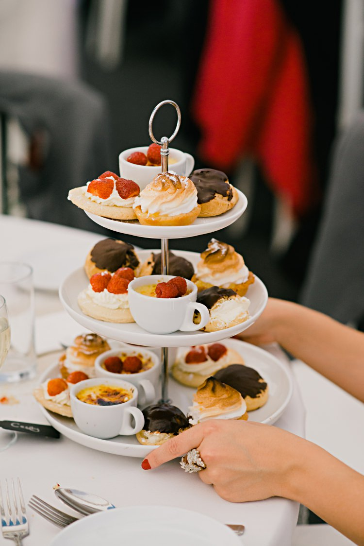 Afternoon Tea Beautiful Bicycle Country Marquee Wedding http://www.emmabphotography.com/