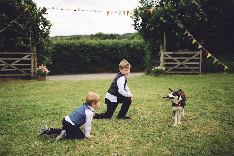 Pet Dog Kids Outdoor Countryside Fair Wedding http://www.jennawoodward.com/
