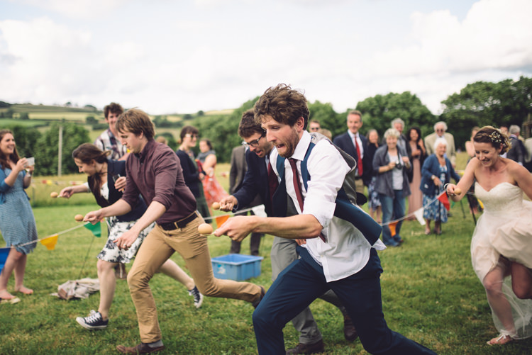 Egg Spoon Race Game Outdoor Countryside Fair Wedding http://www.jennawoodward.com/