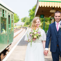 DIY Steam Railway Village Hall Wedding http://www.charlotterazzellphotography.com/