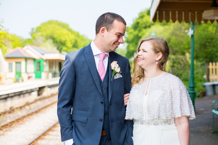 DIY Steam Railway Village Hall Wedding http://www.charlotterazzellphotography.com/