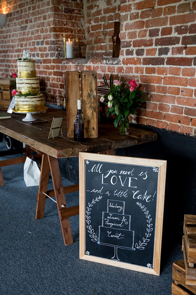 Cake Table Sign Black Chalk Board Pretty Relaxed Countryside Wedding http://katherineashdown.co.uk/