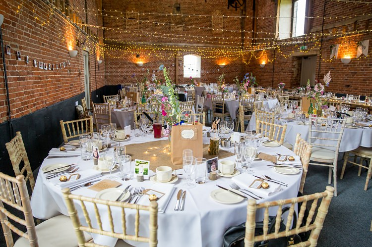 Barn Fairylights Rustic Pretty Relaxed Countryside Wedding http://katherineashdown.co.uk/