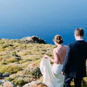 Breathtaking Intimate Mykonos Destination Wedding