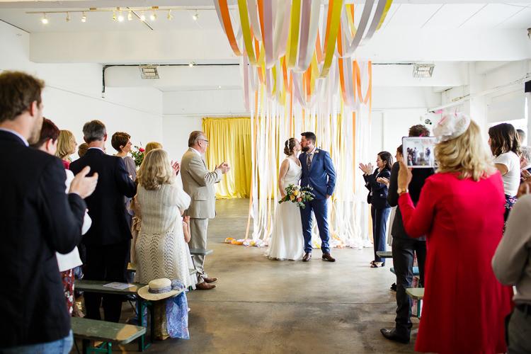 Creative DIY Industrial Warehouse Wedding http://www.michellehill.ca/