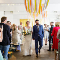 Creative DIY Industrial Warehouse Wedding http://www.michellehill.ca/