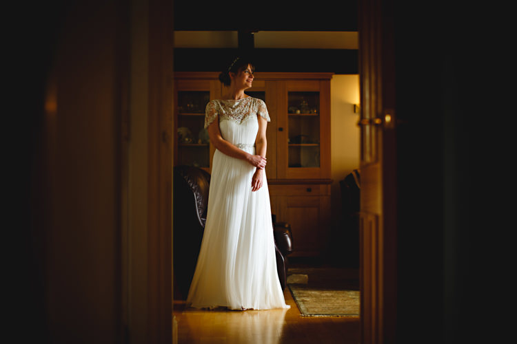 Catherine Deane Dress Bride Gown Bridal Casual Festival Feel Barn Wedding http://hbaphotography.com/