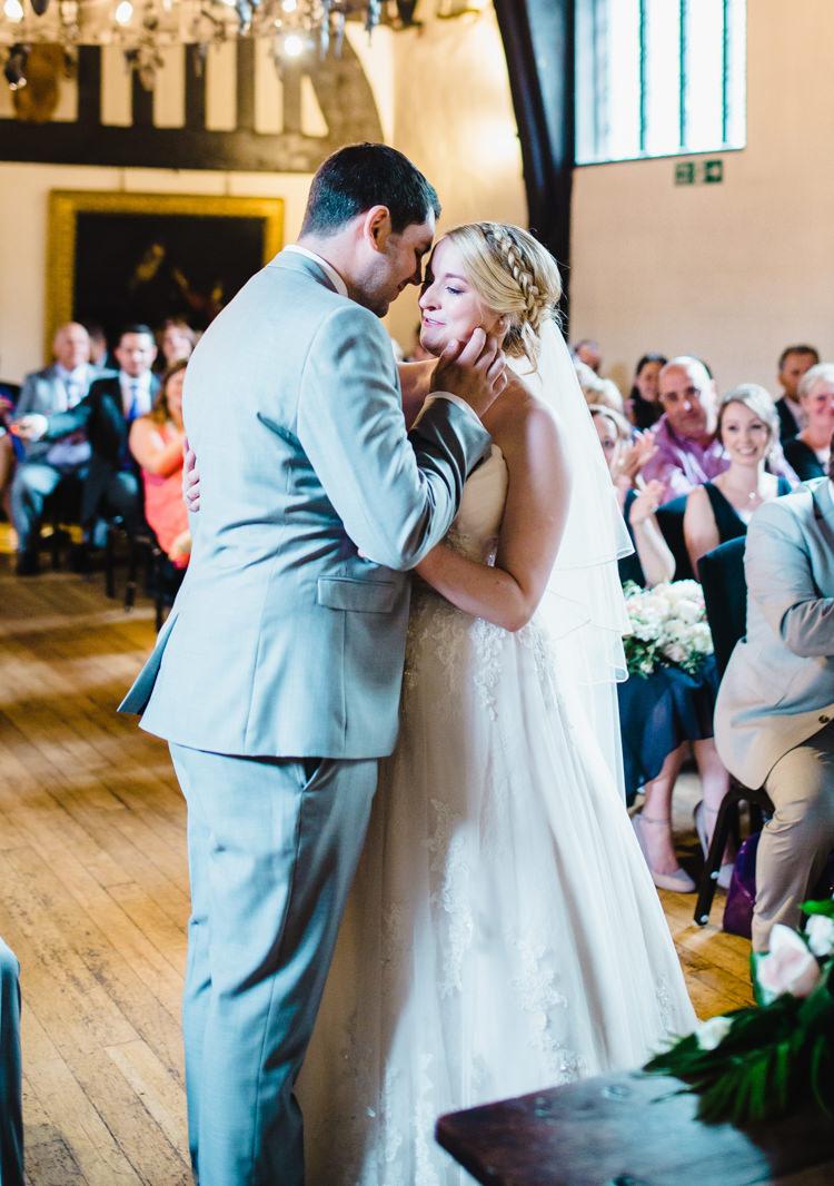 Soft Navy & Pink Classic Wedding   Whimsical Wonderland Weddings