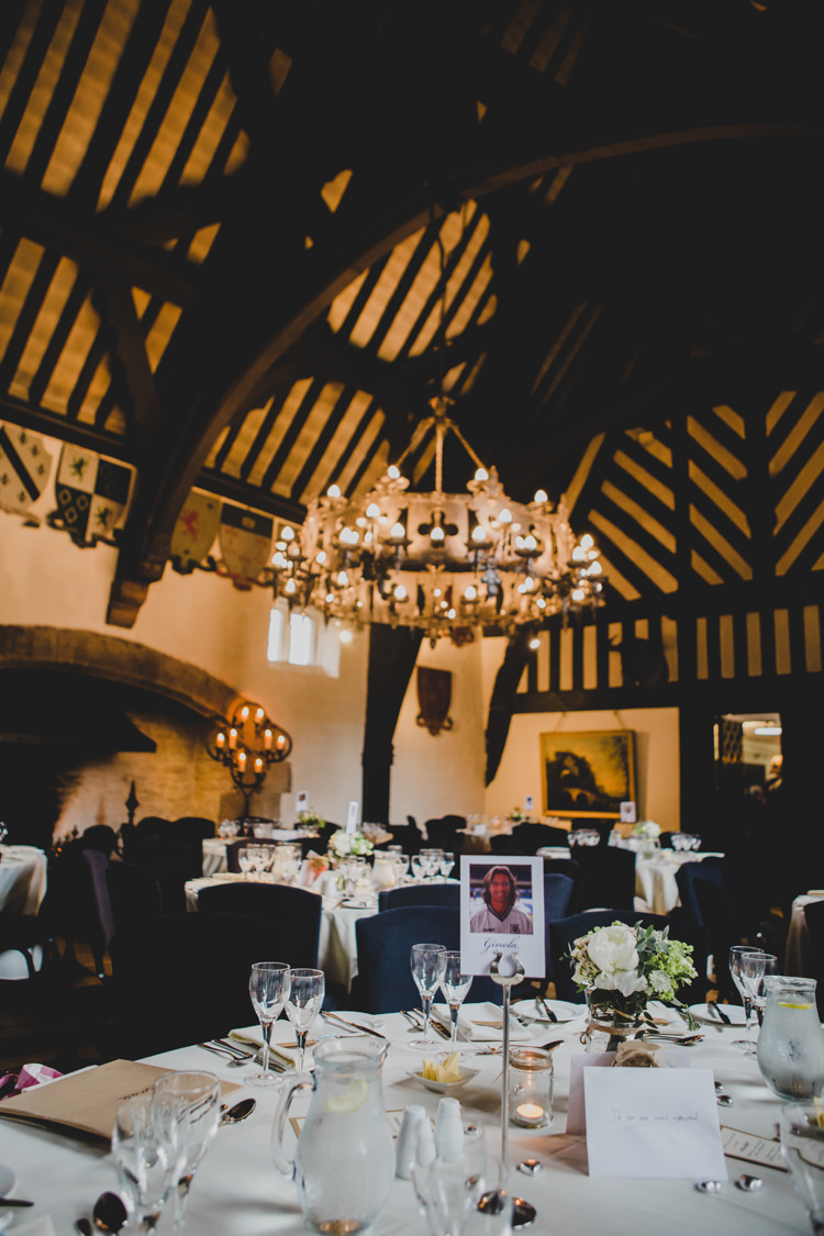 Samlesbury Hall Soft Navy Pink Classic Wedding http://www.racheljoycephotography.co.uk/