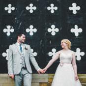 Soft Navy & Pink Classic Wedding