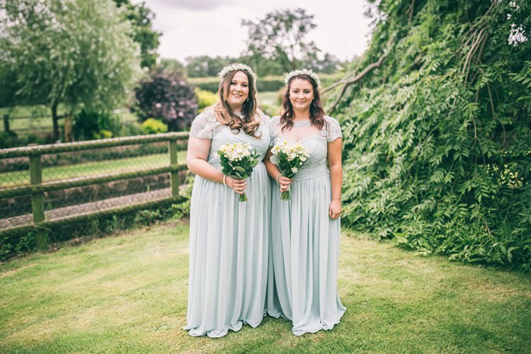 Long Pale Green Bridesmaid Dresses Bohemian Home Made Farm Wedding http://www.jessyarwood.co.uk/