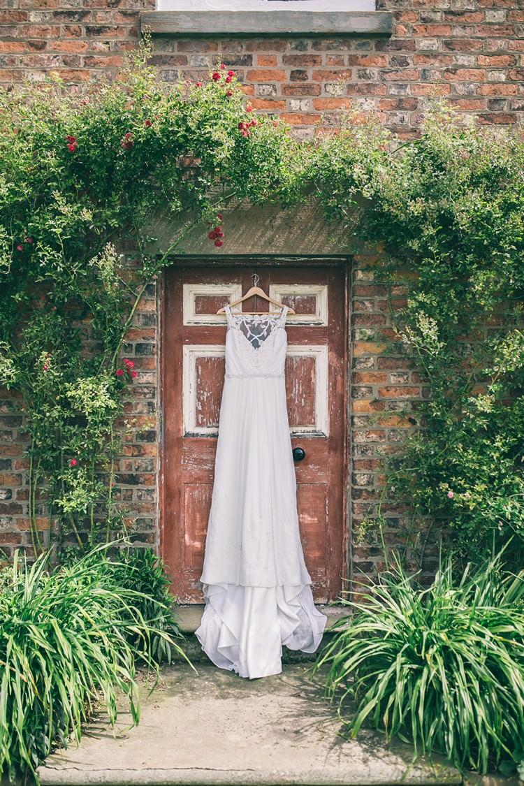 Ti Adora by Alvina Valenta Dress Gown Bohemian Home Made Farm Wedding http://www.jessyarwood.co.uk/