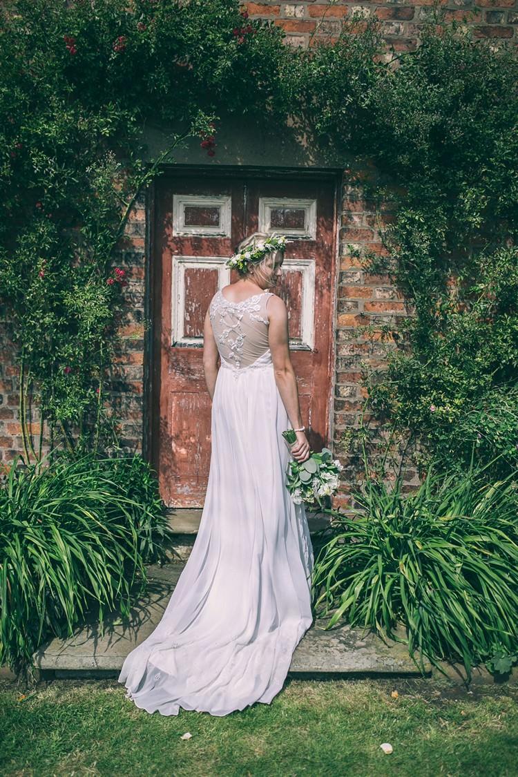 Illusion Back Dress Gown Bride Bridal Ti Adora by Alvina Valenta Bohemian Home Made Farm Wedding http://www.jessyarwood.co.uk/