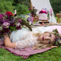 Alternative Colourful Boho Wedding Ideas & Funky Monkey Tents | Whimsical Wonderland Weddings