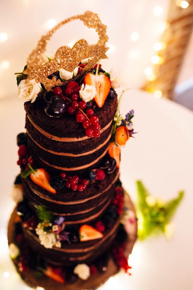 Fruit Cake Wellington