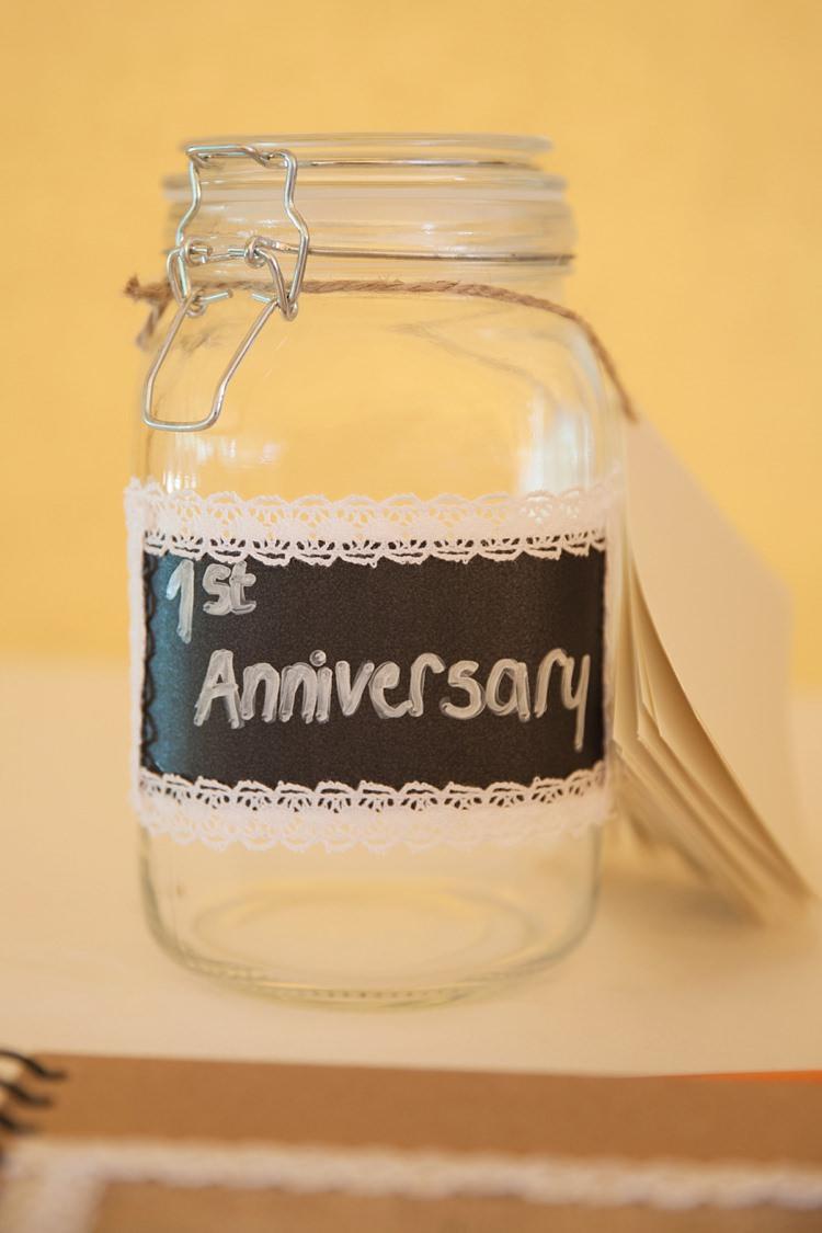 Anniversary Jar Guest Book Pink Rustic Tipi Woodland Wedding http://kerryannduffy.com/