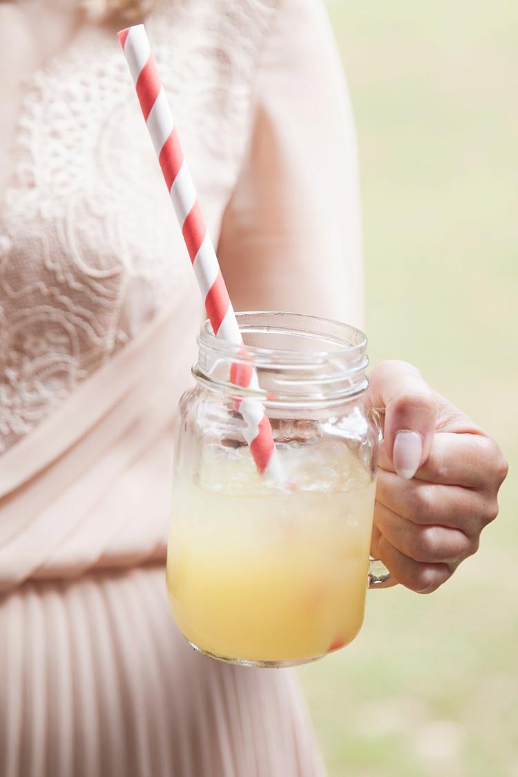 Jar Drink Straw Pink Rustic Tipi Woodland Wedding http://kerryannduffy.com/
