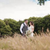 Pale Pink Rustic Tipi Woodland Wedding