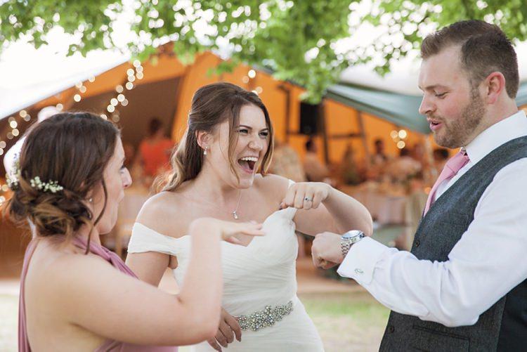 Pink Rustic Tipi Woodland Wedding http://kerryannduffy.com/