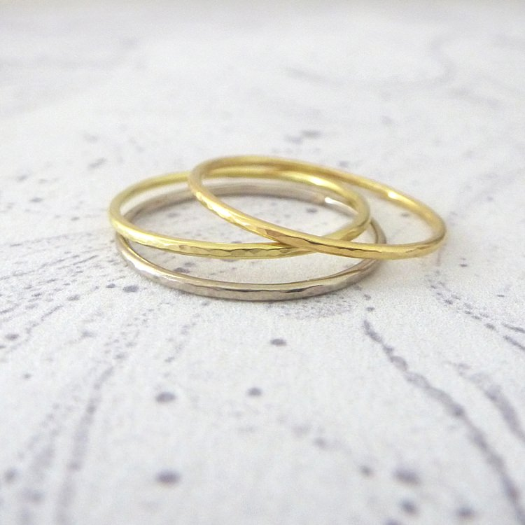 Delicate & Elegant Wedding Rings by Nikki Stark Jewellery
