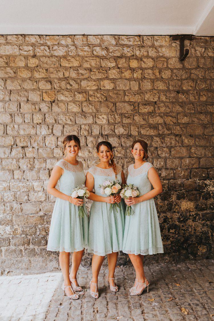 Short Mint Green Bridesmaid Dresses Creative Festival Wedding http://benjaminstuart.co.uk/