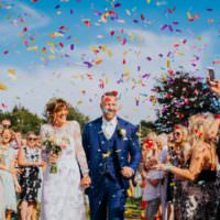 Creative Festival Wedding http://benjaminstuart.co.uk/