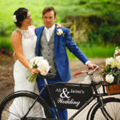 Peonies & Bikes Fun Country House Wedding