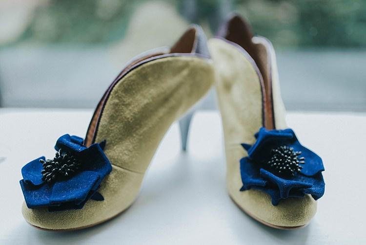 Irregular Choice Shoes Booties Bride Bridal City Farm Yellow Blue Wedding http://www.baiandelle.com/