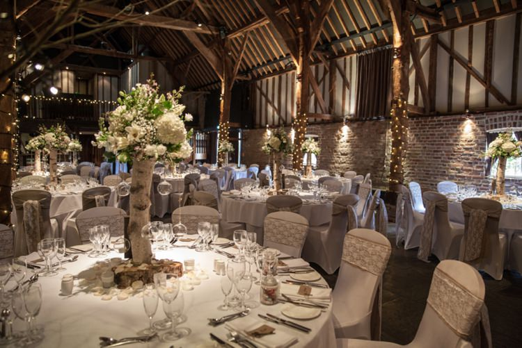 Cooling Castle Barn Kent Cosy Winter Barn Wedding http://kerryannduffy.com/
