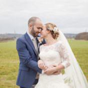 Cosy Winter Barn Wedding